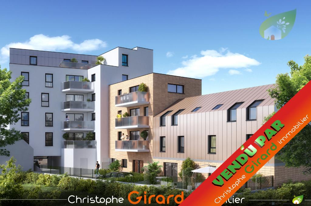 Appartement T3 à RENNES (35000) en défiscalisation PINEL