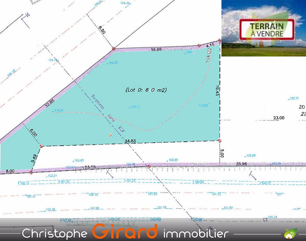 Terrain à TINTENIAC (35190) de 660 m²