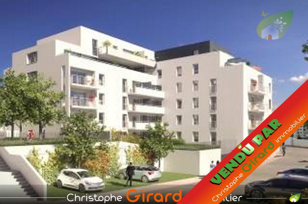 Appartement neuf à RENNES (35000), 2 pièces de 40,85 m².