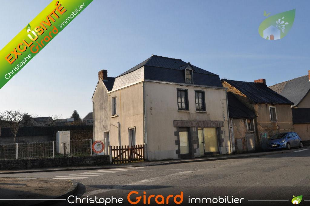Maison à vendre à TINTENIAC  (35190) - 4 pièces de 80 m²