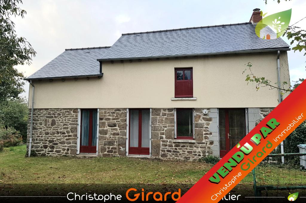 Maison à vendre à 5 mn du centre de TINTENIAC (35190).