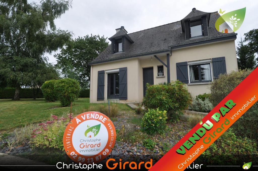 A vendre maison à TINTENIAC (35190) 5 pièces 110 m²