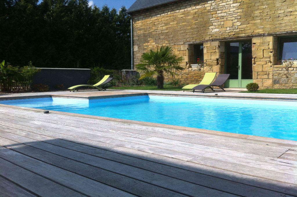 Maison de 2 chambres avec piscine à louer à la semaine sur l'axe RENNES/SAINT MALO