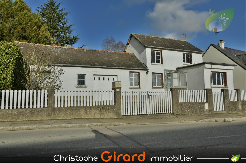 A vendre maison d'habitation à MONTREUIL LE GAST (35520), 20 min de RENNES (35)