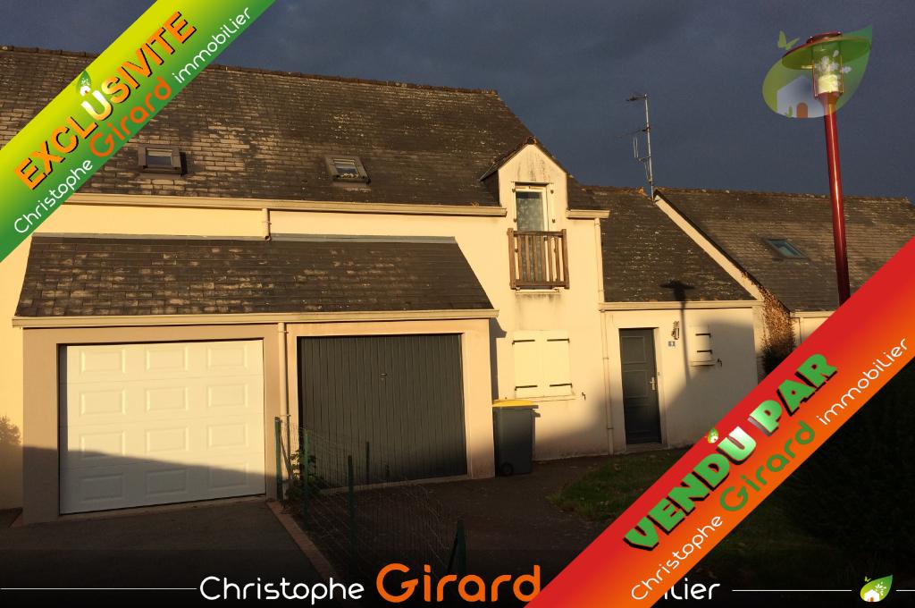 A vendre maison 84 m² à MONTFORT/MEU (35160), 20 min de RENNES (35000)