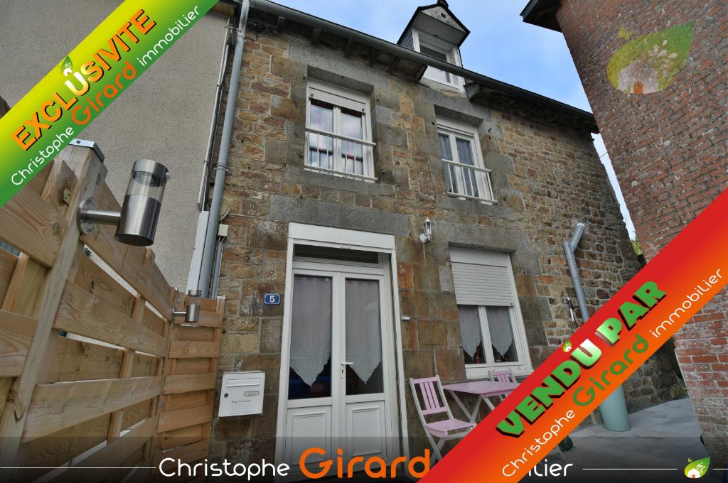 A vendre à SAINT PERN (35190) Maison  4 pièces 62 m²