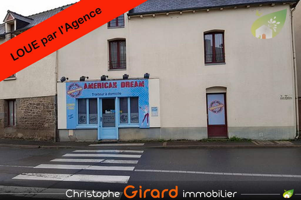 Local commercial  41 m² TINTENIAC (35190) centre bourg