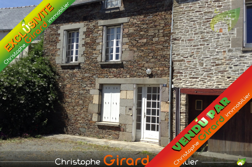Charmante maison en pierre située à PLEUGUENEUC (35720) avec une accès rapide à la 4 voies, 20 min de SAINT MALO