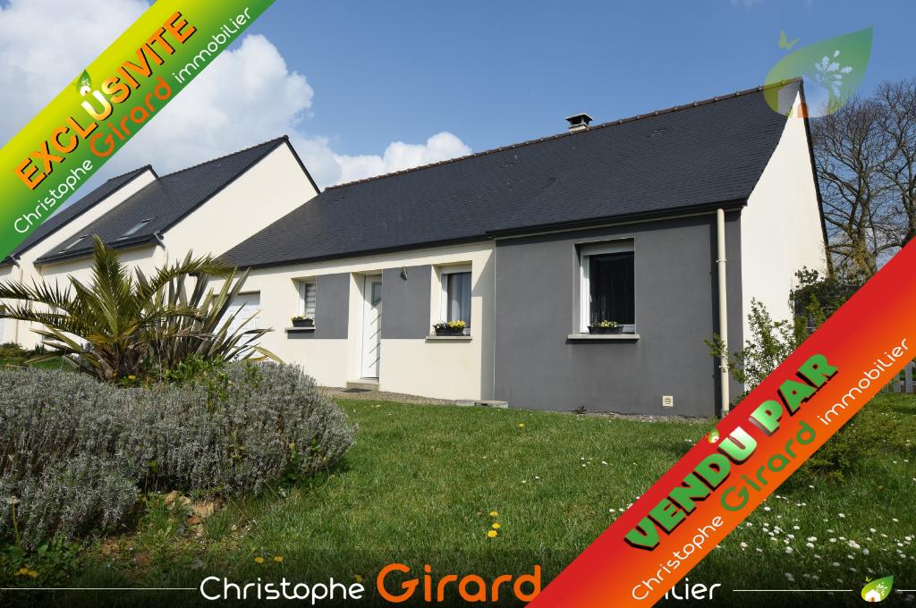 Maison d'habitation plain pied située à SAINT DOMINEUC (35190) à 5 min de TINTENIAC (35190)
